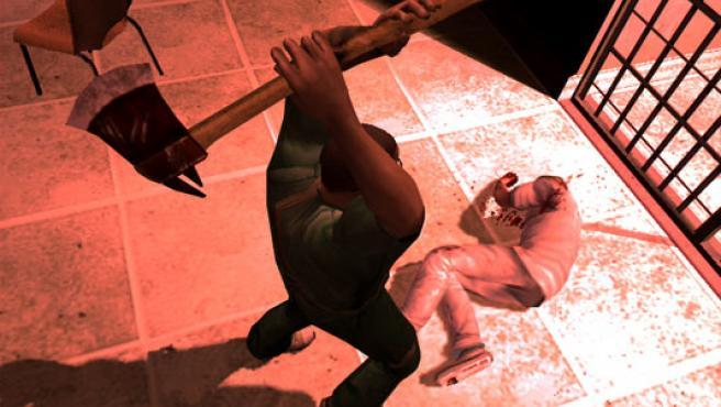 Captura del controvertido videojuego 'Manhunt 2'.