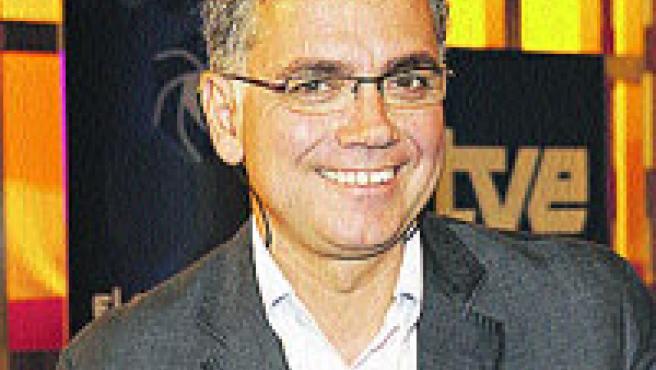 Juan Ramón Lucas, presentador del nuevo espacio.
