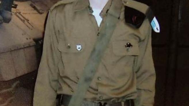 Una fotografía del soldado Gilad Shalit hecha publica por su familia en Juni de 2006June 25, 2006(REUTERS)