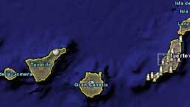 Gracias a Google Earth se han detectado señales de pesca ilegal en las Islas Canarias.