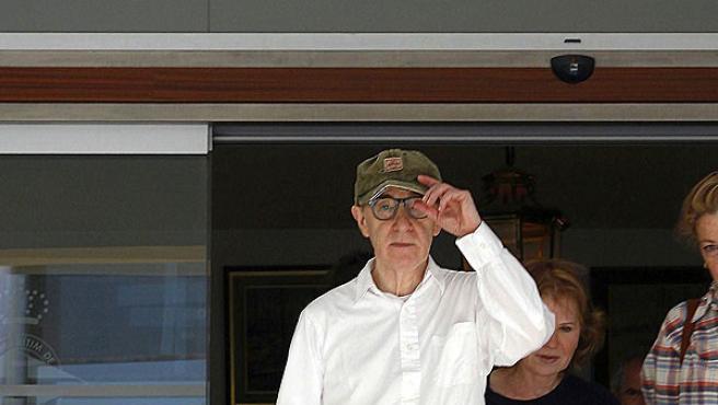 El director estadounidense Woody Allen visitó Barcelona en busca de escenarios para su próximo rodaje.