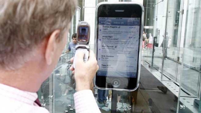 Anuncios del iPhone.