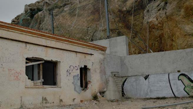 Estado que presentan las casas de El Portús. (CARMEN SAURA)