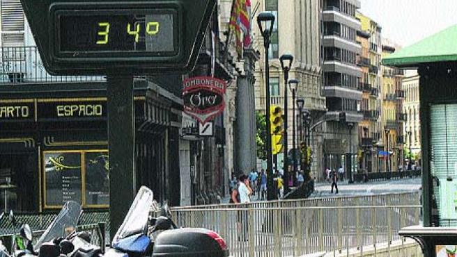 Las altas temperaturas propias del verano.