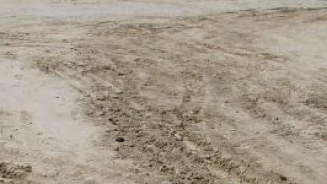 Vista del suelo del parque de Arroyo del Soto