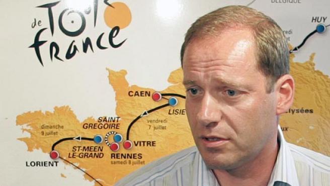 El director del Tour de Francia, Christian Preudhomme (Agencias)