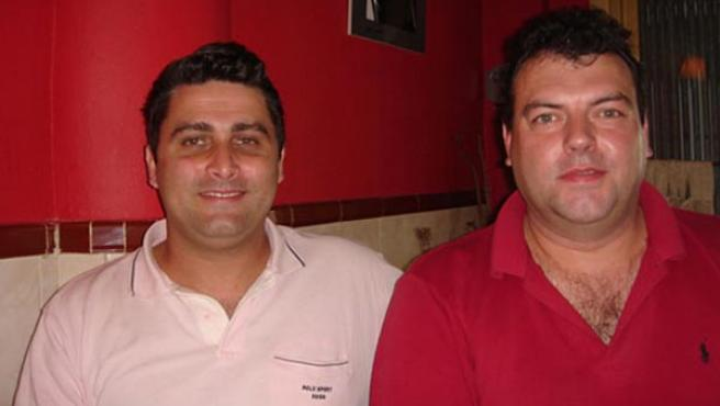 Vicepresidente y presidente de Amáscolega, Chano Ieno y José Velasco, respectivamete