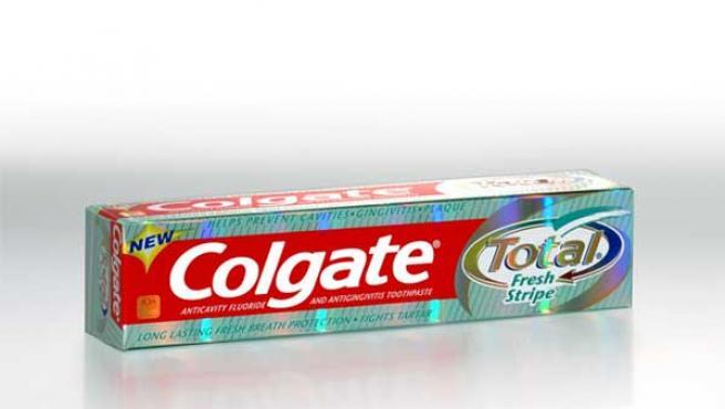 Pasta de dientes de la marca Colgate (MKSTUDIO.COM)