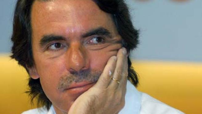 El ex presidente del Gobierno, José María Aznar. (EFE/Juan Martín)