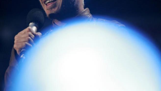 David Beckham asistió al concierto en conmemoración a Diana de Gales (Reuters).