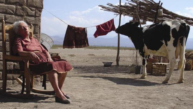 """Fotograma de la película mexicana """"La leche y el agua"""", de Celso García (2006)"""