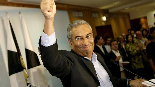 El nuevo alcalde de Lisboa por el partido socialista, Antonio Costa. (PAULO CARRICO / EFE).