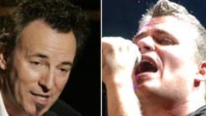Manolo Tena, Springsteen, Dani Martín de 'El canto del loco' y Michael Jackson.