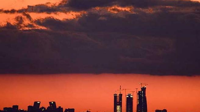 Madrid también estrena skyline (Foto: Efe)