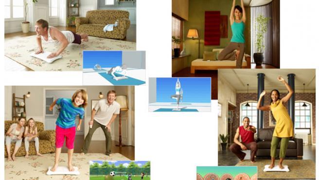 La tabla de equilibrios de Wii detecta los movimientos de los pies y la presión del cuerpo.