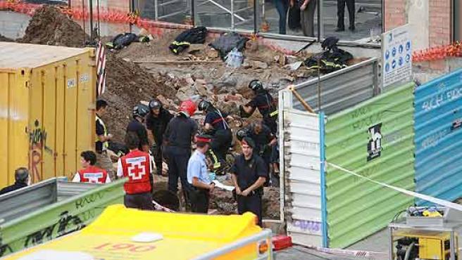 El accidente se produjo en julio del año pasado en la calle Amogavers de Barcelona.
