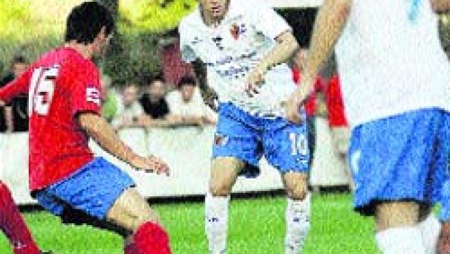 El Real Zaragoza venció en su primer amistoso de pretemporada. (EFE)