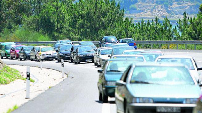 Los colapsos más importantes se registraron a las 12.30 horas(Laura González).