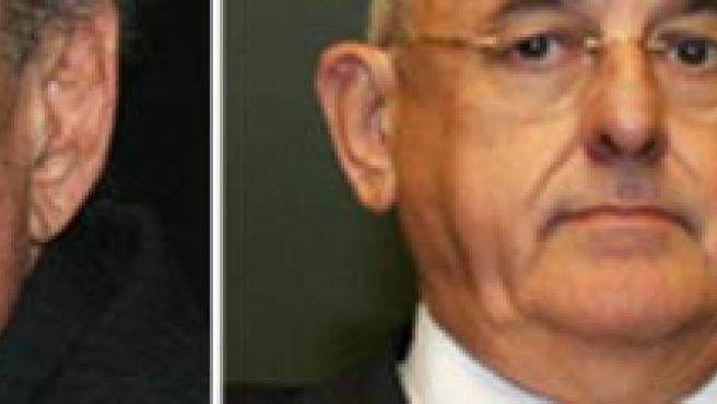 Waldir Pires (izq.), que ha sido sustituido por el ex magistrado Nelson Jobim (dcha.). (EFE).