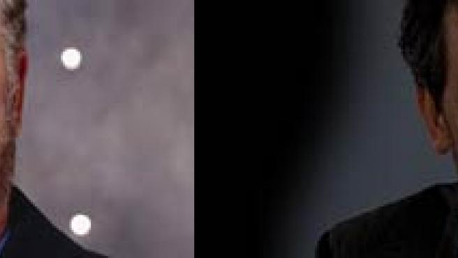 Los actores William Petersen ('CSI') y Hugh Laurie ('House'). (ARCHIVO).