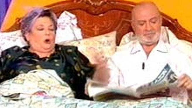 Marisa Porcel y Pepe Ruiz.