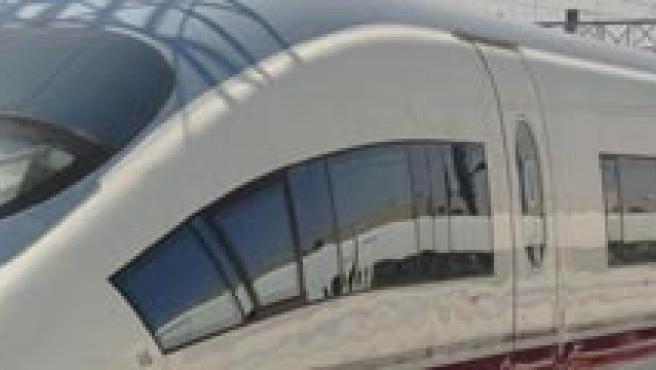 Imagen de una de las máquinas del AVE.
