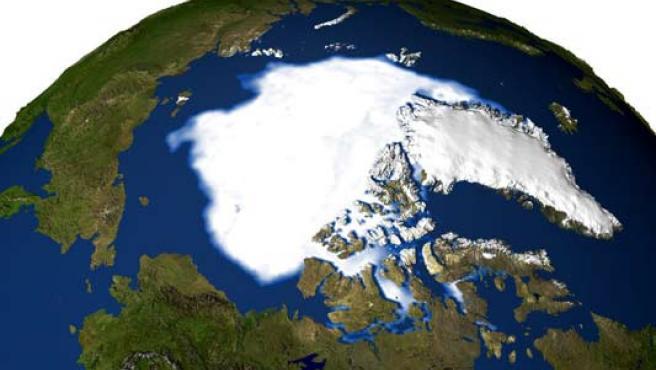 La cadena montañosa Lomonósov tiene una extensión de 1.800 kilómetros. (WIKIPEDIA)