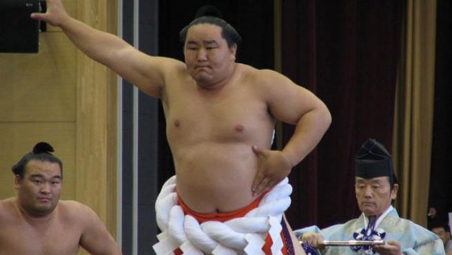 Asashoryu, el campeón mongol de sumo
