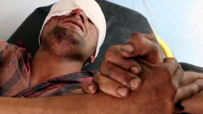 Herido en uno de los atentados del día en Irak (AP)