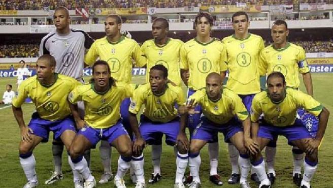 La selección brasileña que disputó el Mundial de Alemania (Archivo).