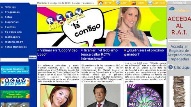 RCTV tendrá que seguir emitiendo, otra vez, desde internet.