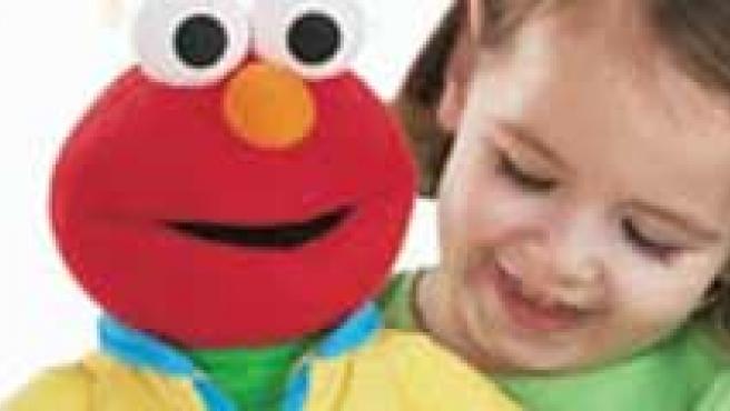 El muñeco de Elmo. (Fisher Price)
