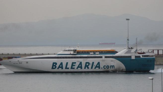 Baleària era la otra empresa, junto a Acciona, que optaba a la concesión.