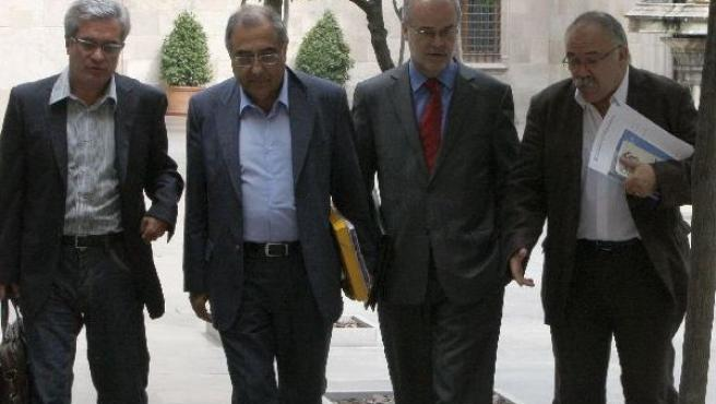 Reunión del Gobierno catalán.