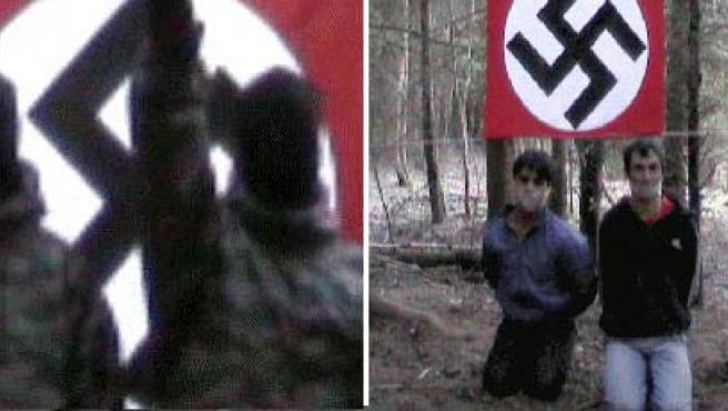 Imágenes del vídeo, que ha sido retirado. (GAZETA.RU)