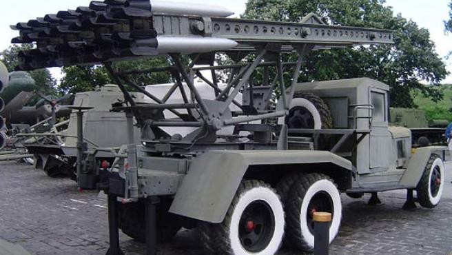 Al parecer, Siria podría desplegarun importante arsenal de cohetes Katyusha. (WIKIPEDIA)