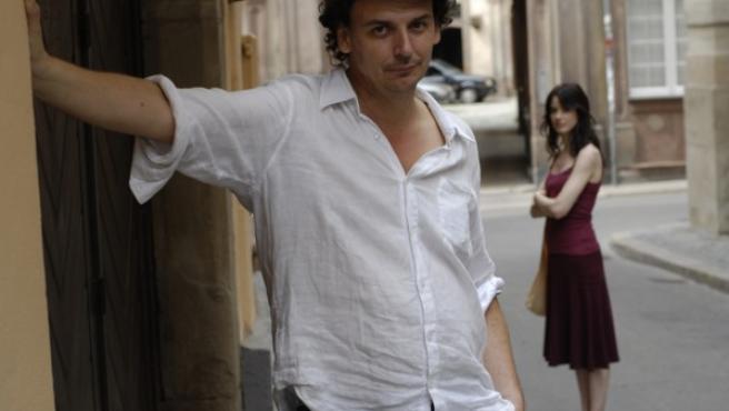 José Luis Guerín y Pilar López de Ayala, director y protagonista de 'En la ciudad de Sylvia'