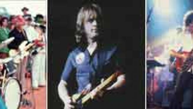 Page, Hendrix, Gilmour, May y Slash.