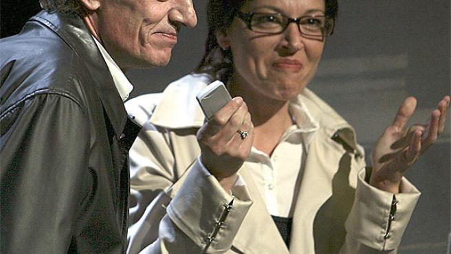 Enrique San Francisco y Beatriz Santana.