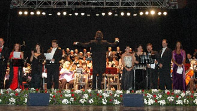 La Orquesta Filarmónica de Palencia, en su estreno