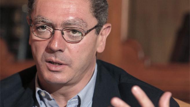 Alberto Ruiz-Gallardón, alcalde de Madrid.