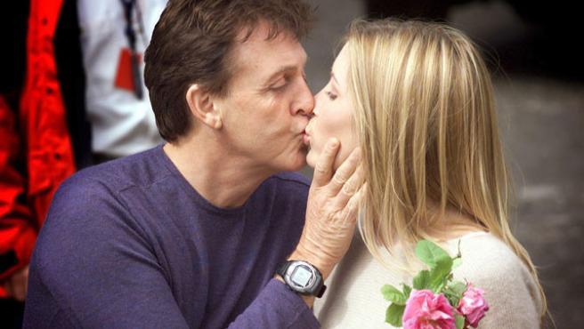 Paul McCartney y Heather Mills en una imagen de archivo, pocos días antes de su boda.