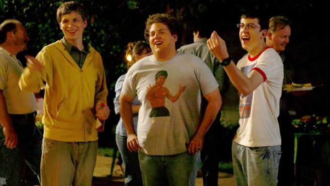Superbad, universitarios en busca d emujeres y borracheras.
