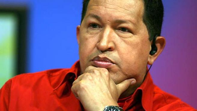 El presidente venezolano Hugo Chávez. (EFE).