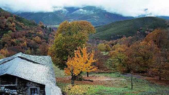 Paisaje del Bierzo. Foto: archivo.