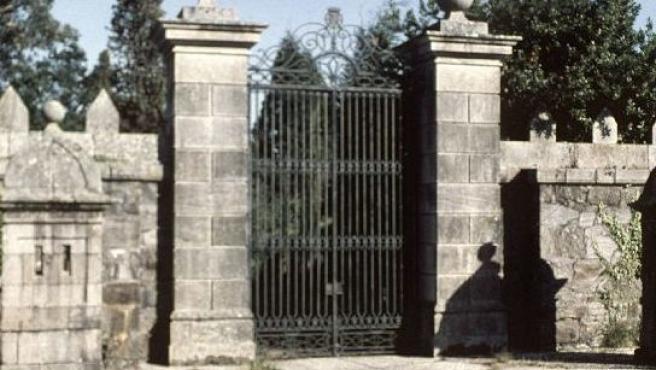 Fachada principal del Pazo de Meirás, una de las propiedades de la familia Franco.
