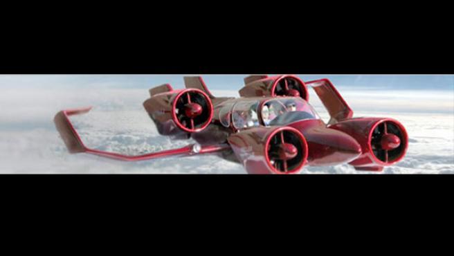 Moller promete que su próximo modelo, el M400 en la imagen, sea capaz de superar los 400 kilómetros por hora.