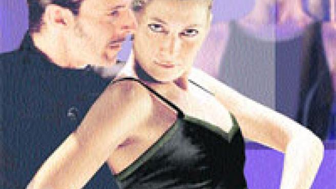 El bailaor Luis Ortega (Don José) és la sort i la perdició de la Carmen de Sara Baras (Arxiu).