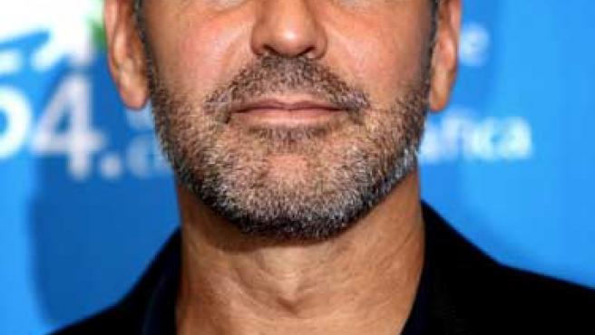 George Clooney en una de sus últimas apariciones públicas