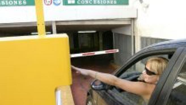 aparcamiento de La Victoria